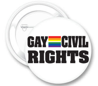 Gay Civil Rights Button