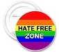 Hate Free Zone Button