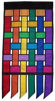 Rainbow Weave Banner