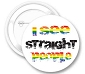 I See Straight People Button
