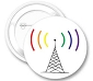 Rainbow WiFi Button