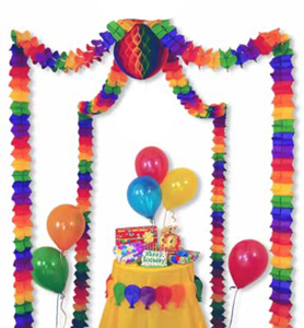 Rainbow Party Canopy