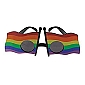 Rainbow Flag Party Glasses