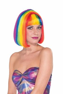 Rainbow Chic Wig