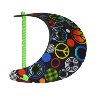 Rainbow Peace / Circles Visor