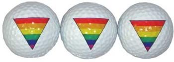 Triangle Golf Balls