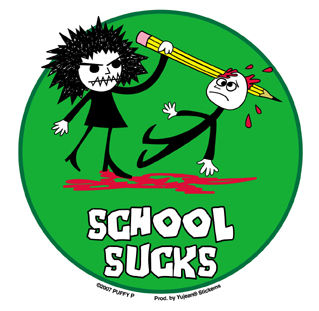 School Sucks Sticker