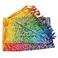 Rainbow Animal Pashmina Scarf