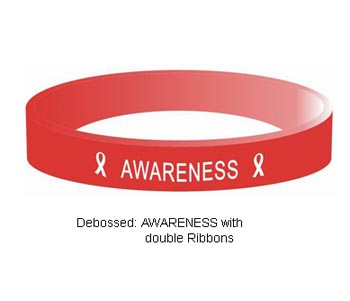 HIV AIDS Awareness Wristband
