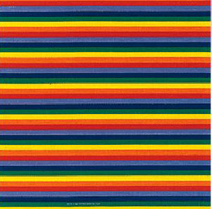Rainbow Thin Striped Bandana