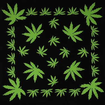 Pot Leaf Bandana