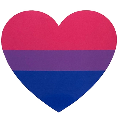 Bisexual Heart Sticker