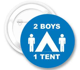 2 Boys 1 Tent Button