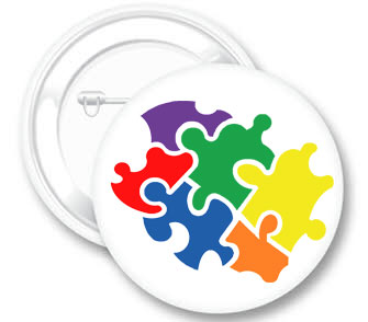 Pieces of the Puzzle Button