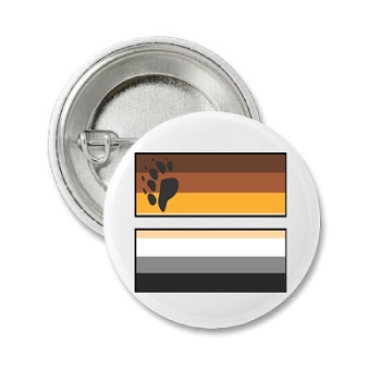 Bear Pride Equal Button