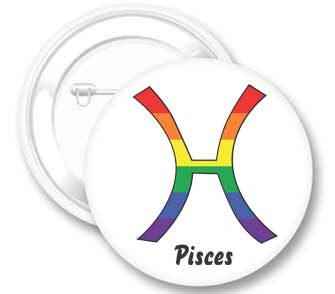 Pisces Button