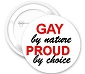 Gay by Nature Button