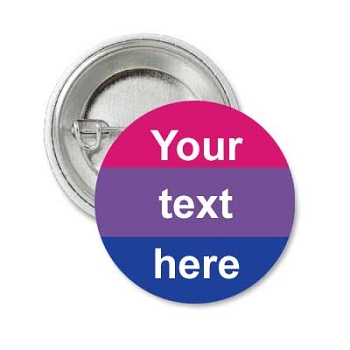 Bi Pride (custon text) Button