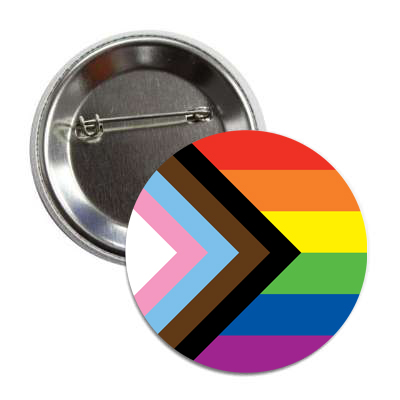Progress Pride Button
