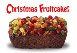 Fruitcake Recipe Holiday Cards
