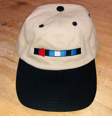 Leather Pride Embroidered Khaki & Black Cap / Hat