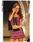School Girl Pleated Mini Costume (2 pieces)