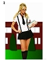 Business School Girl Costume (2 pieces)
