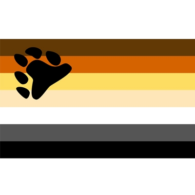 Bear Pride Sticker  (2'' X 3'')