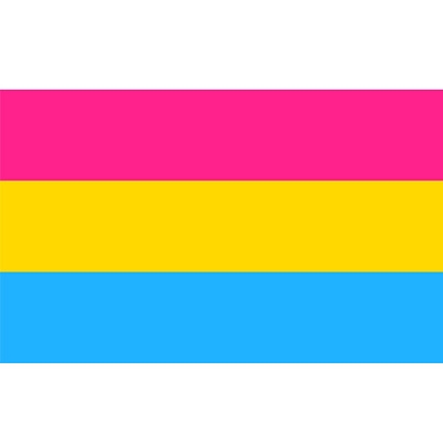 Pansexual Sticker   (2'' X 3'')