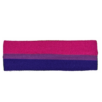 Bi Pride Terry Cloth Headband