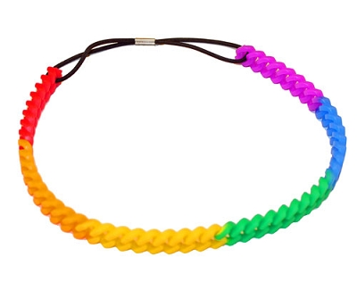 Silicone Chain Headband