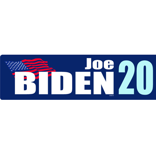 Joe Biden 2020 Bumper Sticker