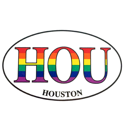 HOU (Houston) Sticker