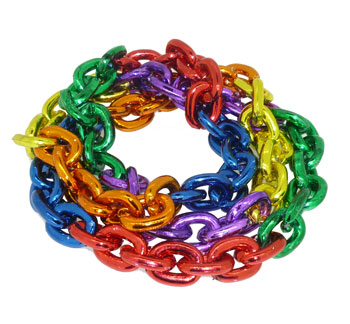 Rainbow Chainlink Necklace