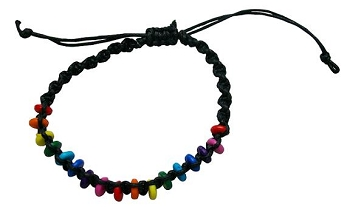 Rainbow Pebbles Bracelet