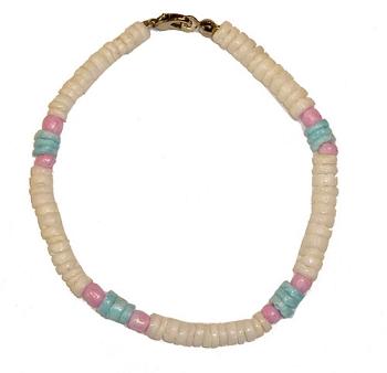 Trans Pride Shell Bracelet