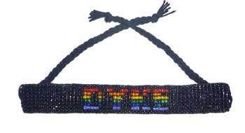 DYKE Beaded Bracelet