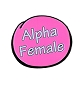Alpha Female Lapel Pin