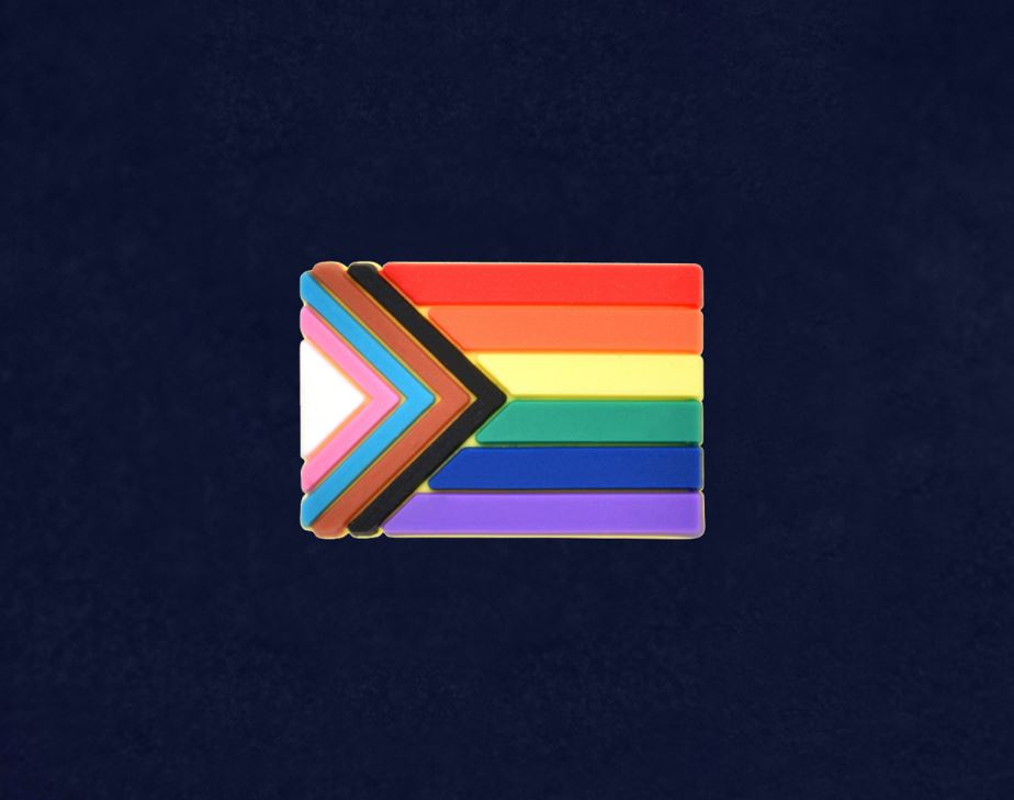 Progress Pride Lapel Pin