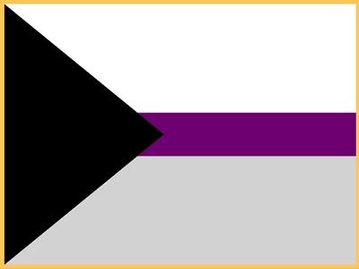 Demisexual Flag Lapel Pin | LGBT Jewelry Lapel Pins