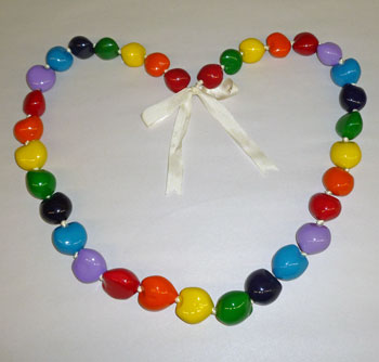 Rainbow Kukuinut Lei / Necklace
