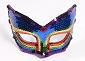 Rainbow Sequin Mask