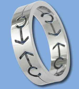 Male Sign Ring