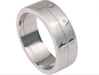 Male Spinner Ring