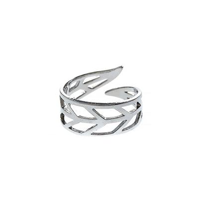 Leaf Cutout Wrap Ring