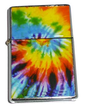 Tie Dye Rainbow Lighter