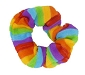 Rainbow Hair Scrunchie