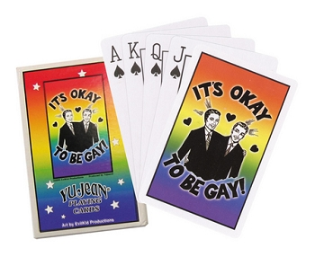 It's Okay to be Gay Playing Cards