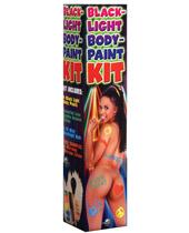Blacklite Body Paint Kit