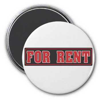For Rent Magnet